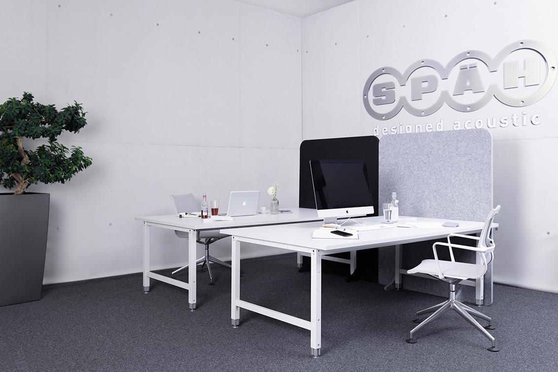 Akustik Trennwand für Großraumbüros