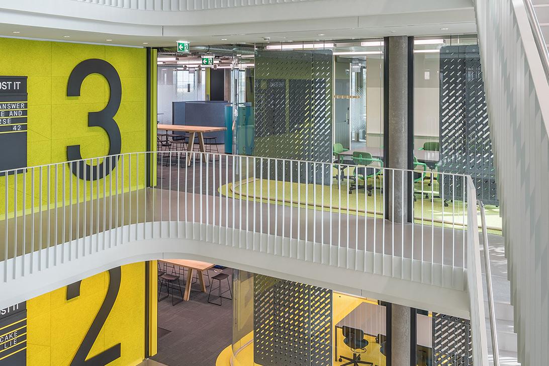 Akustik Raumteiler für Großraumbüros